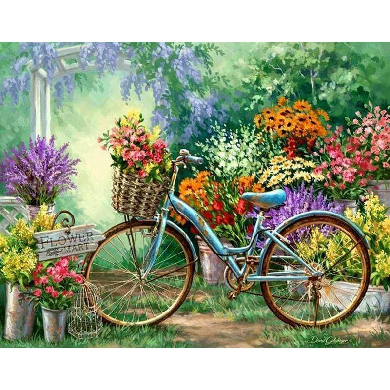 Flowers And Bicycles...