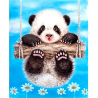Baby Panda Swing Diamond ...